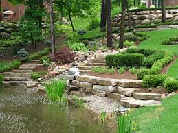 Lawn & Garden:Beauteous Japanese Gardens Designs Ideas With Large Ponds And  Wooden Bridge Also
