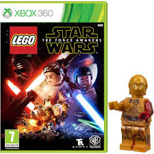 lego star wars the force awakens includes lego star wars the force awakens c 3po toy xbox 360 zavvi