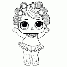 Kleurplaten Lol Surprise Baby Coloriage Lol Surprise Doll Cozy Babe