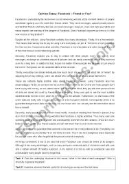 opinion essay and linking words