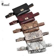 <b>FUNMARDI Vintage Serpentine</b> Designer Belt Bags Women Fanny ...