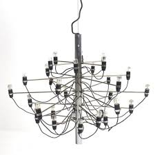 model 2097 30 chandelier by gino sarfatti for arteluce 1958 for at pamono