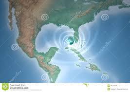 Tifone Di Tornado Di Uragano Nel Golfo Del Messico Che Minaccia Florida  Illustrazione di Stock - Illustrazione di cielo, nearsighted: 34754388