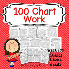 100 Chart Work Fill In Activities Plus 100 Charts Tens Flash Cards K Cc A 1