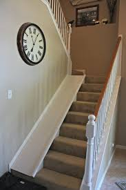 diy indoor stair slide with a super easy tutorial plus the slide is easy