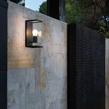 Faro Wall Light Traditional Wall Light Outdoor Aluminum Glass Nala