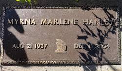 Myrna Marlene Stephens Hanley (1937-2004) - Find A Grave Memorial