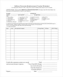 Printable Accounting Forms Classy Sample Printable Accounting Forms 48 Free Documents In Word PDF
