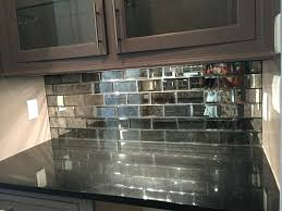 simple mirrored subway tiles mirror ideas mirrored subway tiles mirrored kitchen backsplash simple mirrored subway tiles