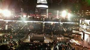 Allstate Arena Seating Chart Wwe Allstate Arena Section 210 Row C Home Of Depaul Blue