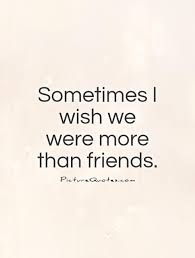 Unrequited Love Quotes Impressive More Than Friends Quotes On QuotesTopics