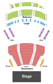 Bjcc Orchestra Seating Chart Prototypal The Peace Center Greenville Sc Seating Chart 2019