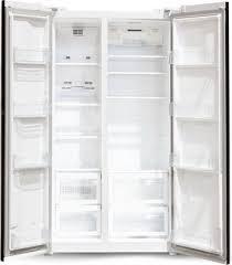 <b>Холодильник</b> Side by Side <b>Ginzzu NFK</b>-<b>605</b> белый купить в ...