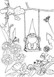 Small Picture Gnome clipart coloring Pencil and in color gnome clipart coloring