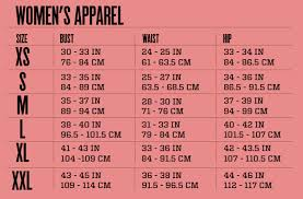 Sizing Chart Deana Kamille