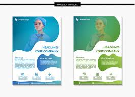 Healthcare And Medical Flyer Template In A4 Vector Premium