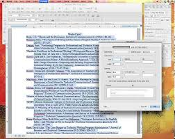 Mla Formatting For Works Cited Page Setting Up Your Works Cited Page In Mla Using Word For Mac Youtube