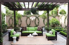 fence decoration ideas outdoor fence decoration ideas patio transitional with wood posts shaded trellis beige rug