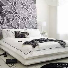 Purple And White Bedroom Black And White Bedroom Wall Decor