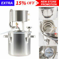<b>12L</b>-22L <b>New</b> Home Stainless Wine Making Sets Brandy Distillation ...