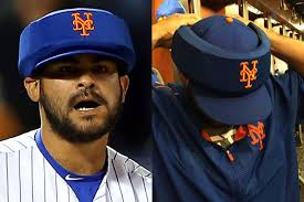 Alex Torres wears oversized cap for protection and earns 1st ...
