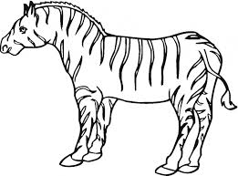 Small Picture Zebra coloring page Animals Town Animal color sheets Zebra picture
