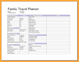 Blank And Printable Business Travel Itinerary Template Document ...