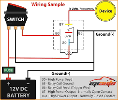 Headlights To Fog Light Relay Wiring Diagram 5 Pin Relay Wiring Diagram