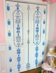 bedroom door painting ideas. Frozen Inspired Painted Door. Elsa\u0027s Bedroom Door Painting Ideas