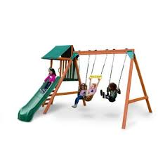 cedar swing sets playground