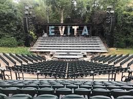 Open Air Theatre Seating Plan