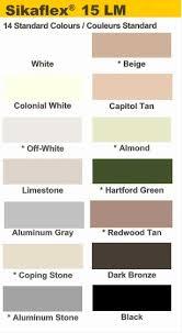 Sika 1a Color Chart Sika 15lm Color Chart Www Bedowntowndaytona Com