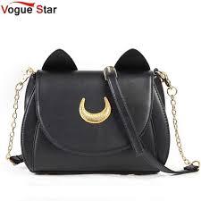 Hot 2020 Summer Limited Sailor <b>Moon Bag</b> Ladies Handbag Black ...
