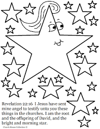 Small Picture Jesus Is The Bright And Morning Star Coloring Page