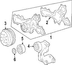 parts com® toyota rav4 belts oem parts 2008 toyota rav4 base v6 3 5 liter gas belts