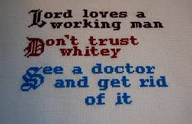 The Jerk Quotes Impressive 48 Rock Pattern And The Jerk Pattern NEEDLEWORK