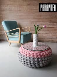 Crochet Pouf For Sale