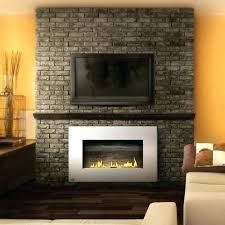 mount tv above fireplace no studs ing safe brick mantel