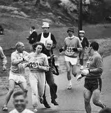 The First Woman To Officially Run in the Boston Marathon
