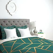elisabeth fredriksson copper and teal duvet cover graphic design duvet covers