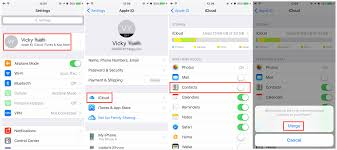 3 Ways to Transfer Contacts from iPhone to iPhone X 8 7 6S 6