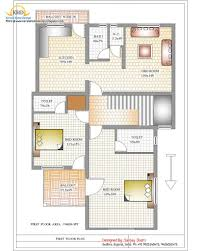 3 bedroom duplex house design plans india