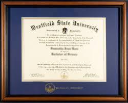 diploma frames westfield state alumni diploma frame order form
