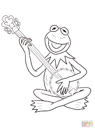 Small Picture Kermit the Frog coloring page Free Printable Coloring Pages
