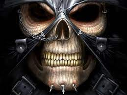 Scary Evil Skull Wallpapers - Top Free ...