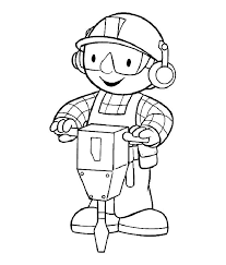 Small Picture Bob The Builder Coloring Pages 6 Free Printable Coloring Pages