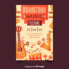 Free Music Poster Templates Retro Music Poster Template Vector Free Download