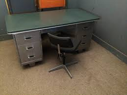 vintage metal office furniture. Accessories: Awesome Vintage Metal Office Furniture Mcdowell U Amp Craig Quot Steel Tanker Desk Uk