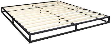 Zinus Joesph Modern Studio 6 Inch Platforma Low Profile Bed Frame / Mattress Foundation / Boxspring Optional / Wood slat support, King