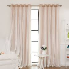 tulle blackout grommet curtain panel joss main